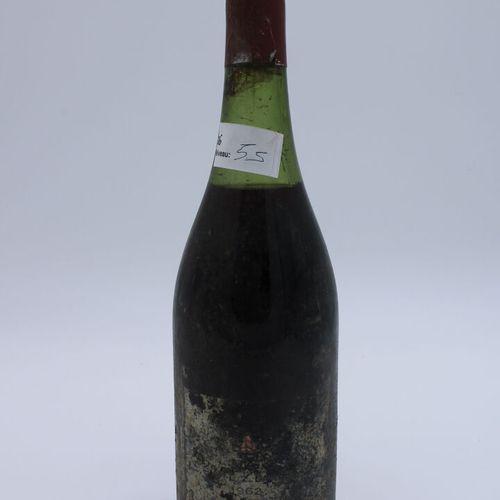 Domaine René Engel,Echezeaux 1962, niveau 5.5 cm, étiquette partielle, capsule c…