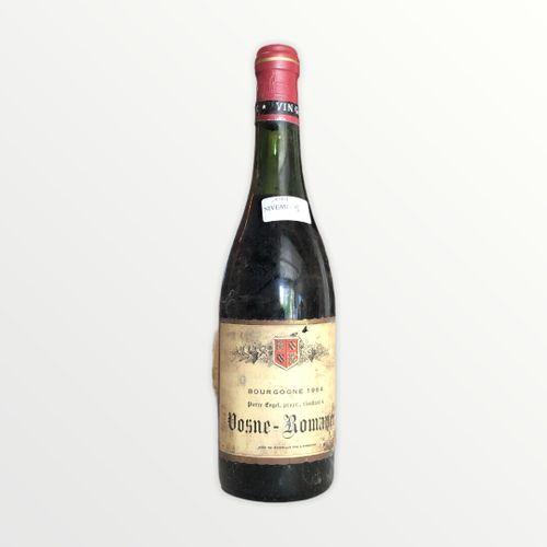 Domaine René Engel, Pierre Engel, Vosne Romanée 1964, Level 5 cm, label stained …