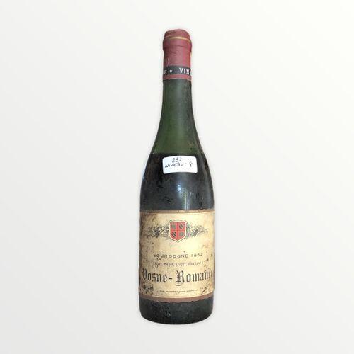 Domaine René Engel, Pierre Engel, Vosne Romanée 1964, niveau 8 cm, étiquette tac…