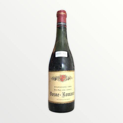 Domaine René Engel, Pierre Engel, Vosne Romanée 1964, niveau 7.5 cm , étiquette …