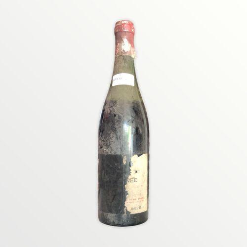 Domaine René Engel, Vosne Romanée大概是1962年,水平6.5厘米,标签几乎丢失,胶囊被腐蚀了
