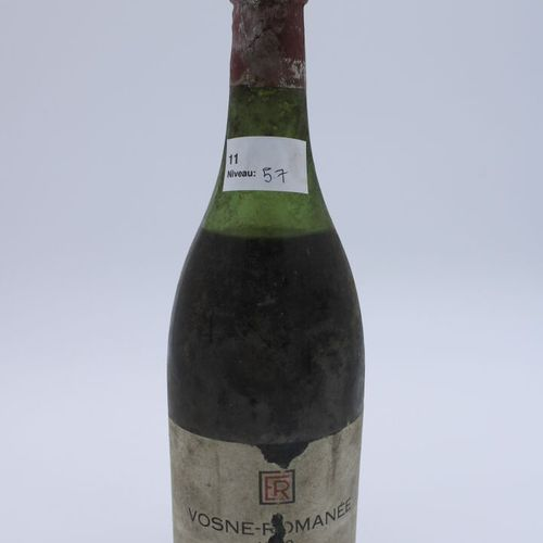 René Engel酒庄,Vosne Romanée 1962,水平5.7厘米,部分标签