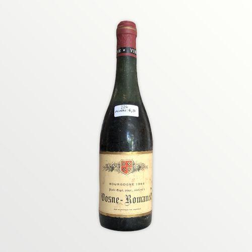Domaine René Engel, Pierre Engel, Vosne Romanée 1964, Level 6.5 cm, label staine…