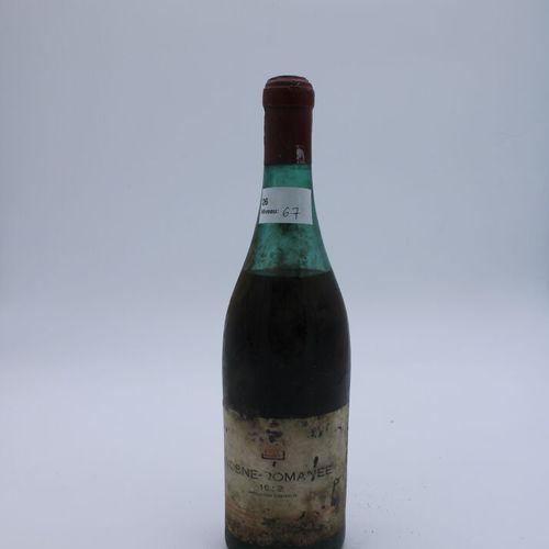 Domaine René Engel, Vosne Romanée probablement 1962, niveau 6.7 cm, étiquette ta…