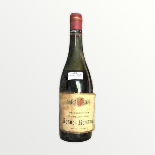 Domaine René Engel, Pierre Engel, Vosne Romanée 1964, niveau 8.5 cm, étiquette t…