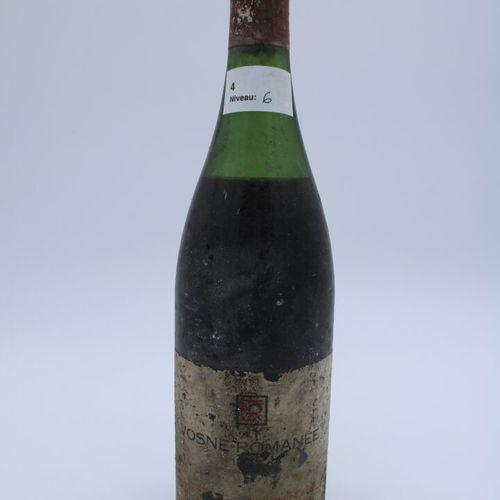 Domaine René Engel, Vosne Romanée 1962, niveau 6 cm, étiquette partielle, capsul…