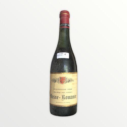 Domaine René Engel, Pierre Engel, Vosne Romanée 1964, niveau 6 cm, étiquette lég…