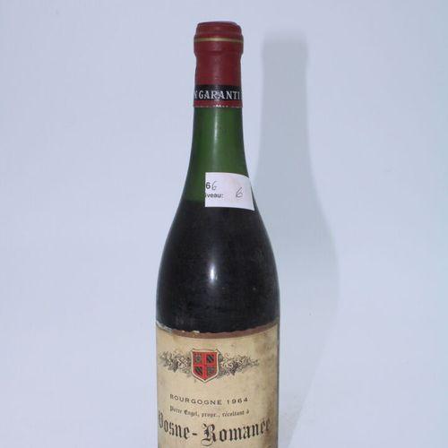 Domaine René Engel, Pierre Engel, Vosne Romanée 1964, Level 6 cm, label stained,…