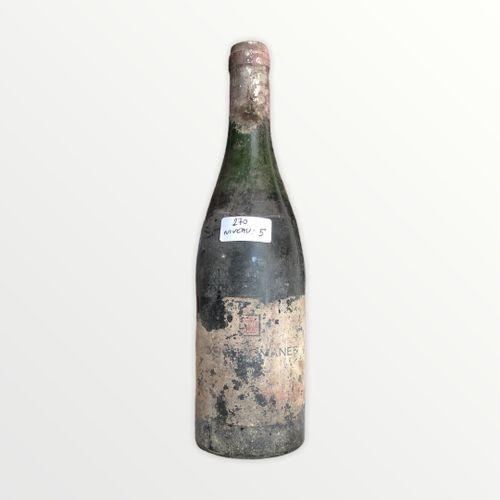 Domaine René Engel, Vosne Romanée probablement 1962, niveau 5 cm, étiquette très…