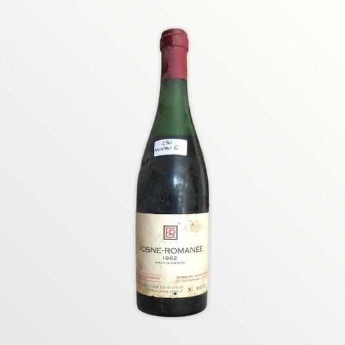 René Engel酒庄,Vosne Romanée,1962年,水平6厘米,标签有污渍并轻微破损