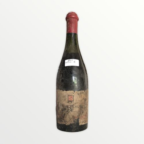 René Engel酒庄,Echézeaux 1962年,水平面5厘米,标签严重损坏,有污点和局部。