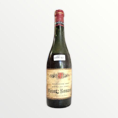 Domaine René Engel, Pierre Engel, Vosne Romanée 1964, Level 8.5 cm, label staine…