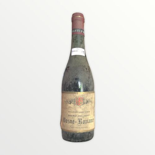 René Engel酒庄,Pierre Engel,Vosne Romanée 1964年,水平面7.5厘米,标签有污渍和破损