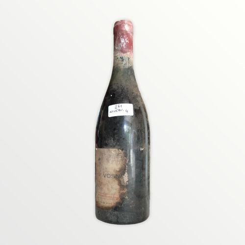 Domaine René Engel, Vosne Romanée大概是1962年,水平4厘米,标签上有污渍和部分,胶囊被腐蚀了