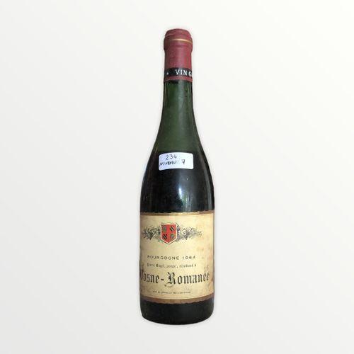 Domaine René Engel, Pierre Engel, Vosne Romanée 1964, Level 7 cm, label stained,…