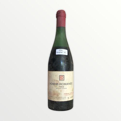 René Engel酒庄,Vosne Romanée 1962年,水平6厘米,污渍标签