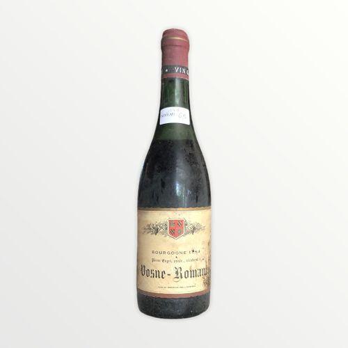 Domaine René Engel, Pierre Engel, Vosne Romanée 1964, Level 6.5 cm, stained labe…