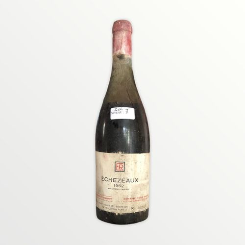 René Engel酒庄,Echézeaux 1962年,水平7厘米,标签上有污点,胶囊被腐蚀了