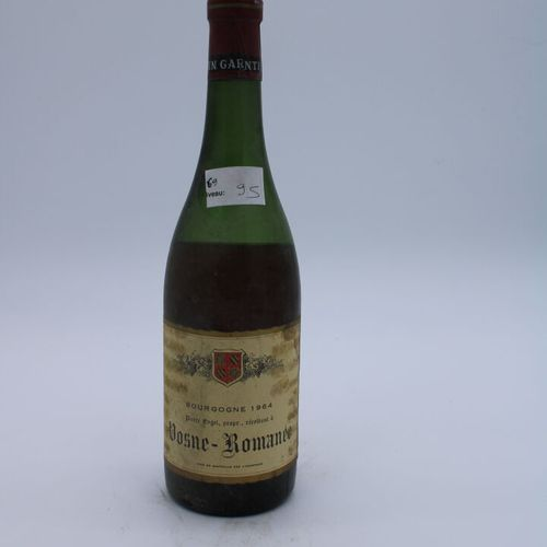 Domaine René Engel, Pierre Engel, Vosne Romanée 1964, niveau 9.5 cm, étiquette t…