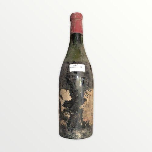 Domaine René Engel, Clos Vougeot probablement 1962, niveau 7 cm, étiquette parti…