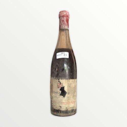 Domaine René Engel, Echézeaux 1962, Level 5.5 cm, label stained and partial, cap…
