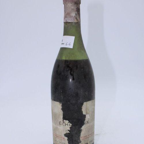 Domaine René Engel, Echezeaux大概是1962年,水平6.6厘米,标签染色,丢失,胶囊腐蚀