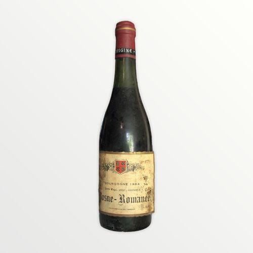 Domaine René Engel, Pierre Engel, Vosne Romanée 1964, niveau 4.5 cm, étiquette t…