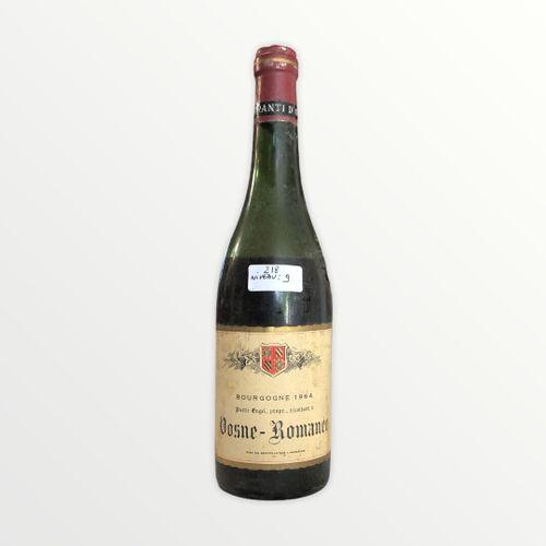 Domaine René Engel, Pierre Engel, Vosne Romanée 1964, niveau 9 cm, étiquette tac…