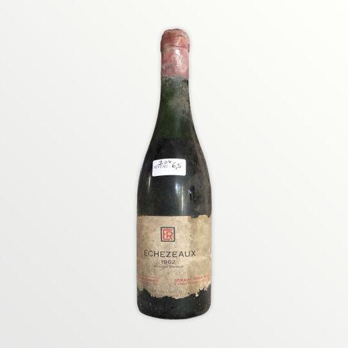 René Engel酒庄,Echézeaux 1962年,水平6.5厘米,标签有污点和破损