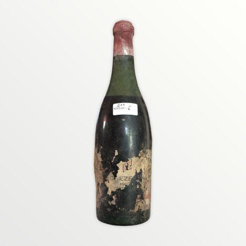 Domaine René Engel, Echézeaux 1962, level 6 cm, stained and partial label, corro…