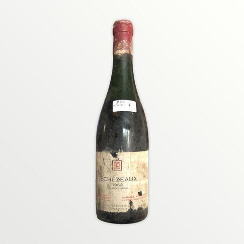 Domaine René Engel, Echézeaux 1962, Level 7 cm, label stained and torn, capsule …