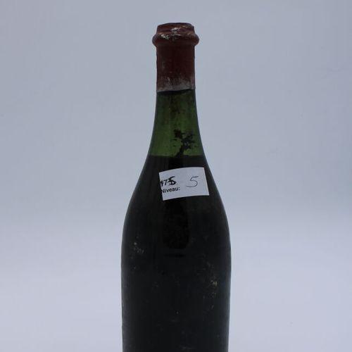 Domaine René Engel, Vosne Romanée 1962, niveau 5 cm, étiquette tachée, manques, …