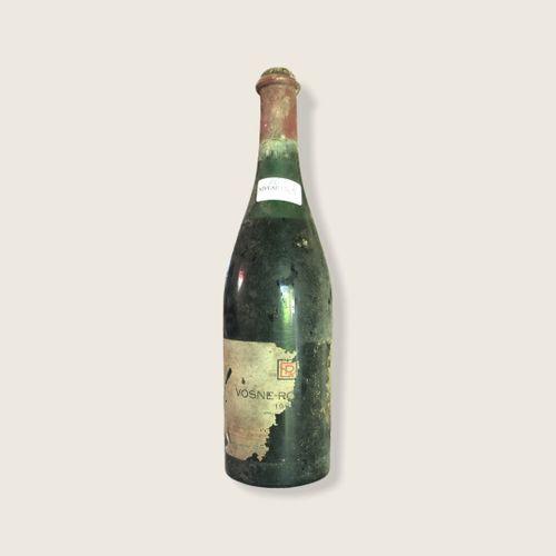 Domaine René Engel, Vosne Romanée probablement 1962, niveau 5.5 cm, étiquette pa…