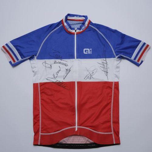 FÉDÉRATION FRANÇAISE DE CYCLISME Maillot Champion de France de cyclisme sur rout…