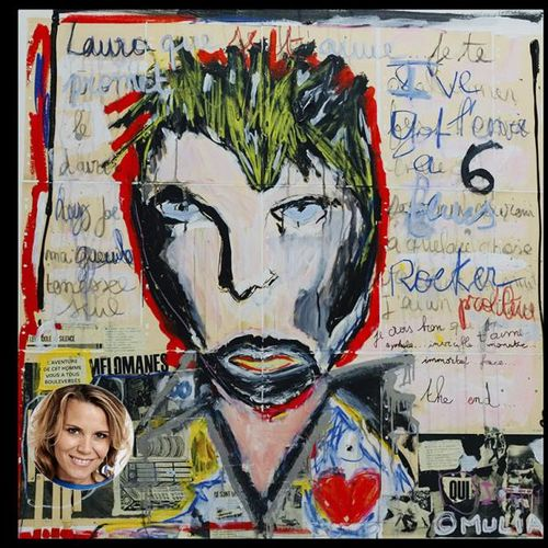 Laura Tenoudji Laura Tenoudji offre une oeuvre d'art contemporain de l'artisteM…