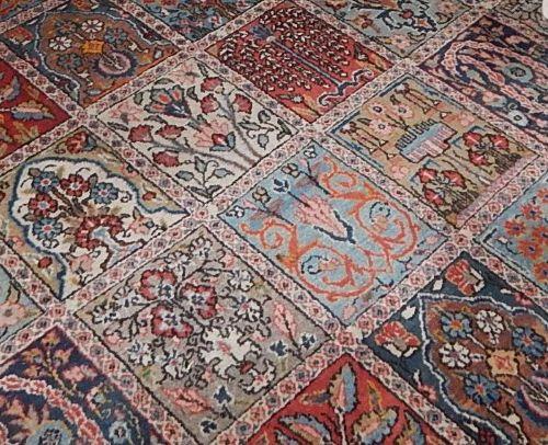 Tapisserie,Moud,laine sur coton,ca.383x276cm