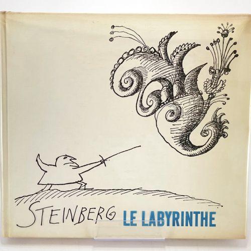 STEINBERG. Le Labyrinthe. STEINBERG Saul. Le Labyrinthe.  Paris, Delpire, 1960. …