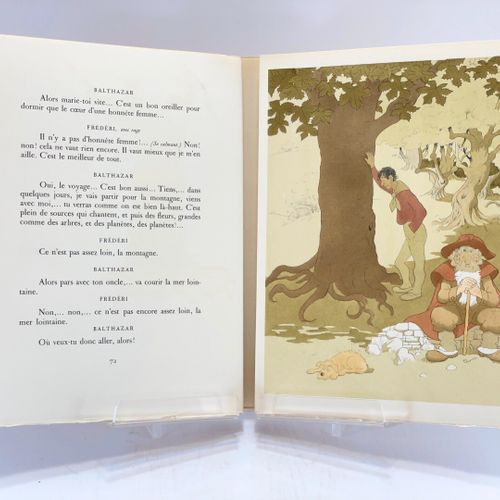 DUBOUT. DAUDET. L'Arlésienne. DAUDET Alphonse. L'Arlésienne. Illustrations de Du…