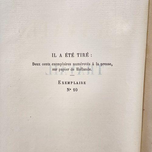 ZOLA. Travail. ZOLA Emile. Les Quatre Evangiles. Travail.  Paris, Eugène Fasquel…