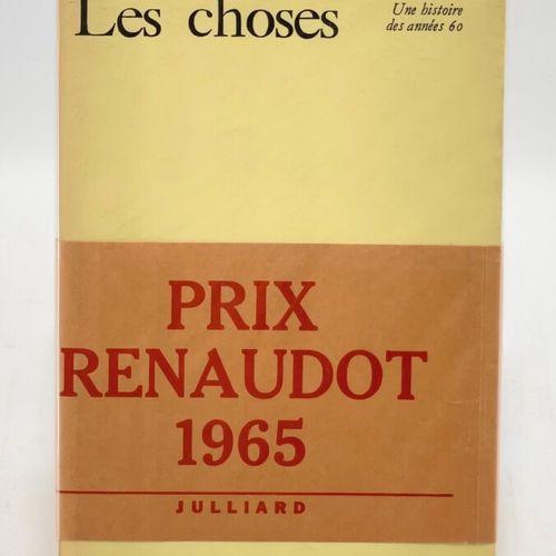 PEREC. Les Choses. PEREC Georges. Les Choses. Une histoire des années 60.  Paris…
