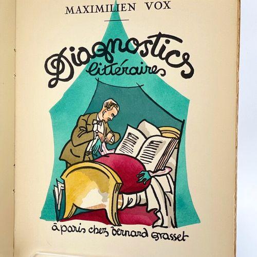 VOX. Diagnostics littéraires. VOX Maximilien. Diagnostics littéraires de MM. G. …