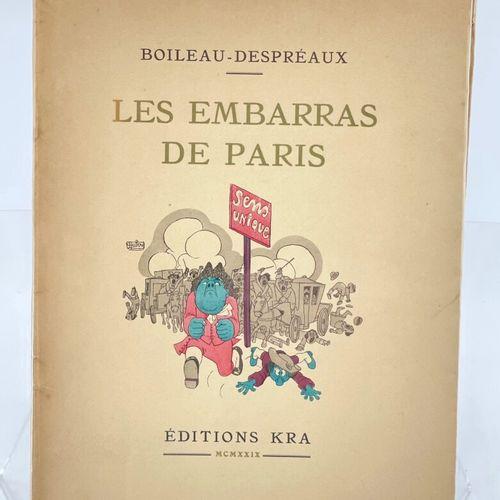 DUBOUT. BOILEAU DESPREAUX. Les Embarras de Paris. BOILEAU DESPREAUX. Les Embarra…
