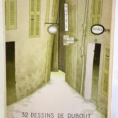 DUBOUT. DEVAUX. La Rue sans loi. DEVAUX Pierre. La Rue sans loi. 32 dessins de D…