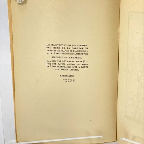 LAMBERT. FLAUBERT. Trois contes. FLAUBERT Gustave. Trois contes. Introduction d'…