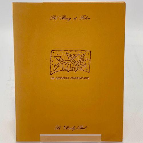 FOLON. Deux ouvrages. FOLON. Lettres à Giorgio. 1967 1975.  Genève, Alice Editio…
