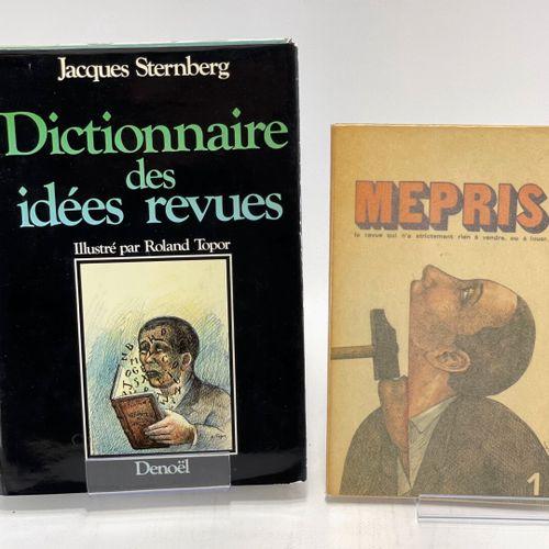 STERNBERG. Le Mépris. Collection complète en trois numéros. STERNBERG Jacques. L…