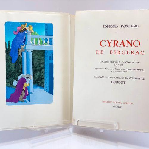 DUBOUT. ROSTAND. Cyrano de Bergerac. ROSTAND. Cyrano de Bergerac. Comédie héroïq…