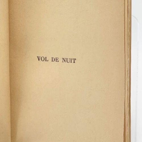 SAINT EXUPERY. Vol de nuit. Envoi autographe signé. SAINT EXUPERY Antoine de. Vo…
