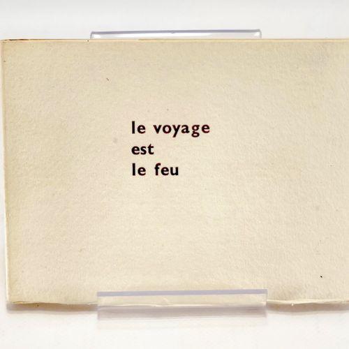 DORNY. ARRABAL. Le Voyage est le feu. ARRABAL Fernando, DORNY Bertrand. Le Voyag…