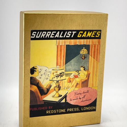 Surrealist Games. BROTCHIE Alastair. Surrealist Games.  London, Redstone Press, …